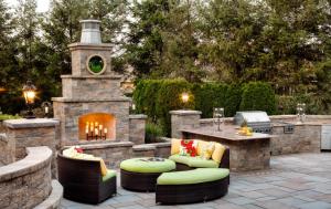 outdoor lounge area design